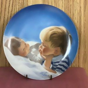 "Pemberton & Oakes ""Brotherly Love"" plate"